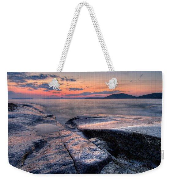 Liquid Lagoon  Weekender Tote Bag