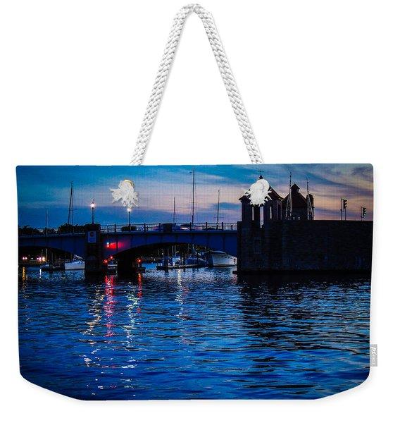 Liquid Sunset Weekender Tote Bag