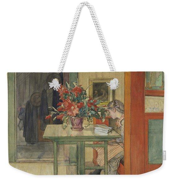 Lisbeth Reading Weekender Tote Bag