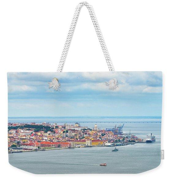 Lisbon 10 Weekender Tote Bag