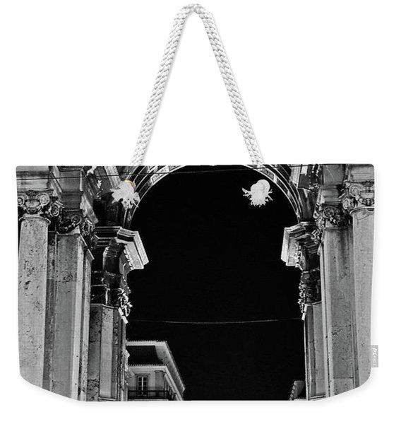 Lisbon - Portugal - Triumphal Arch - Rua Augusta Weekender Tote Bag