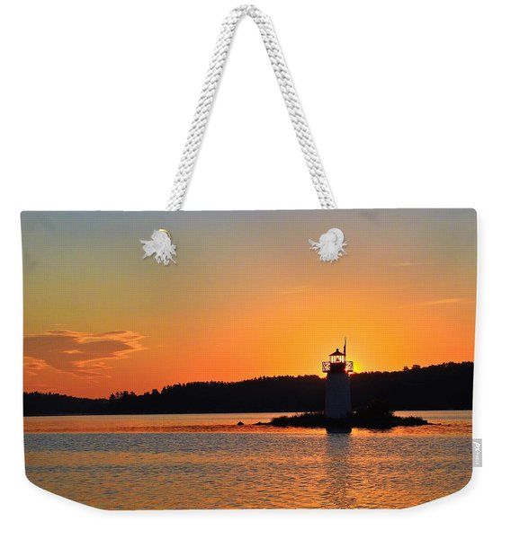 Lit By The Sun Weekender Tote Bag