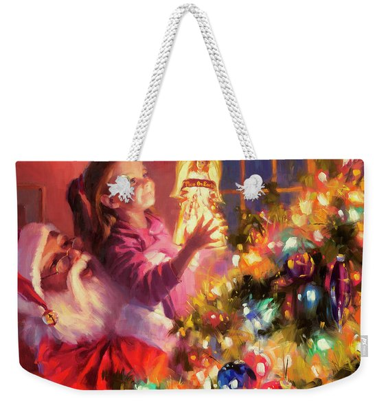 Little Angel Bright Weekender Tote Bag