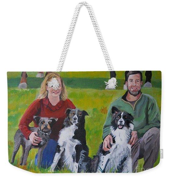 Little Bit's New Family Weekender Tote Bag
