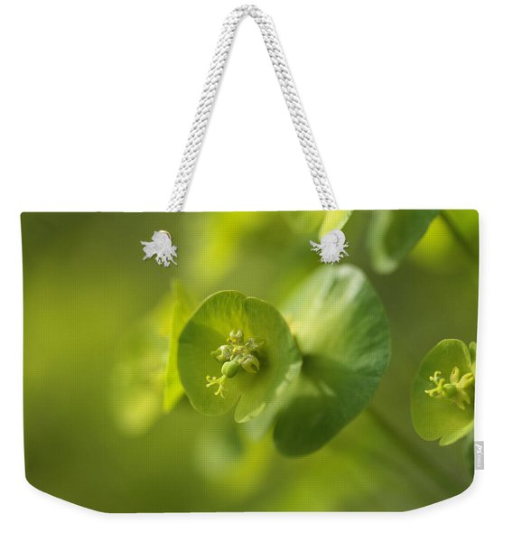 Green Power Weekender Tote Bag