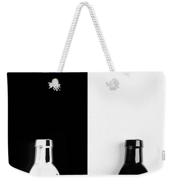 Little Black  Bottle Weekender Tote Bag