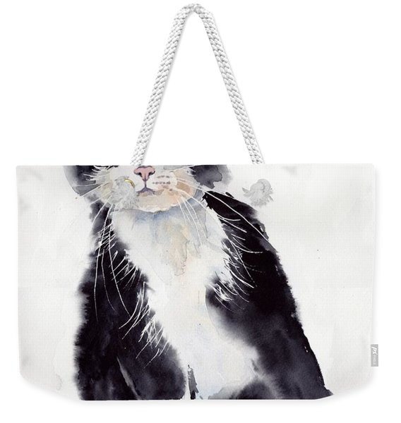 Little Black Scamp Weekender Tote Bag