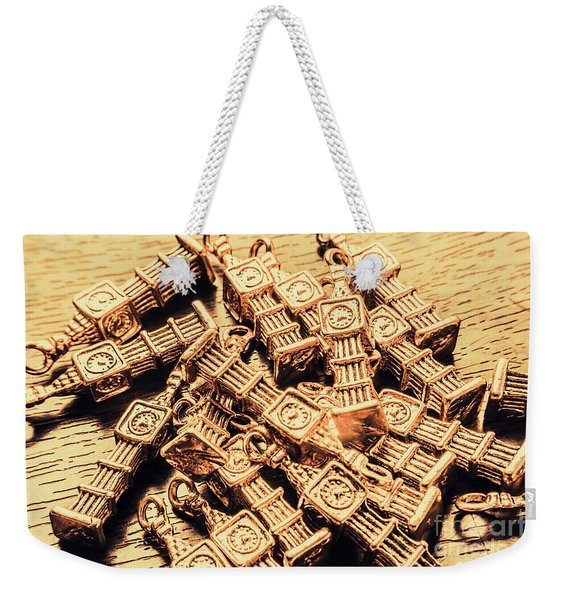 Little Britain And Big Ben Weekender Tote Bag