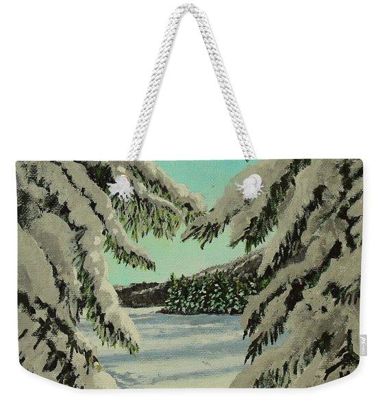 Little Brook Cove Weekender Tote Bag