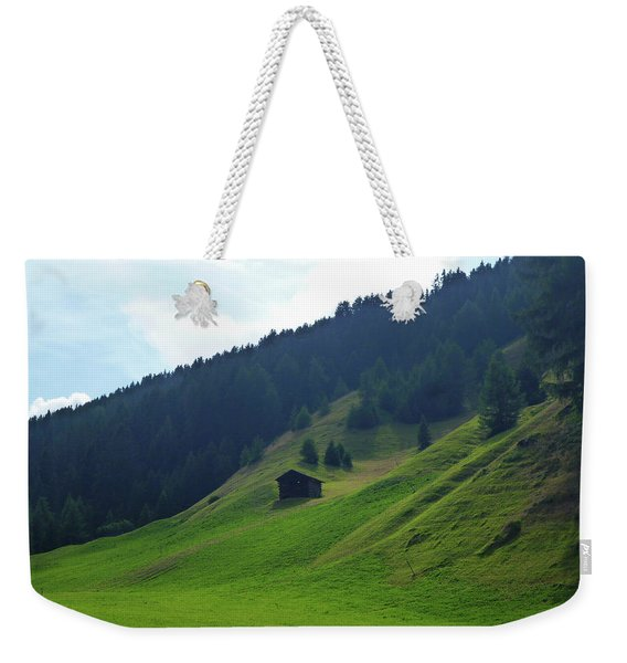 Little Cabin Weekender Tote Bag