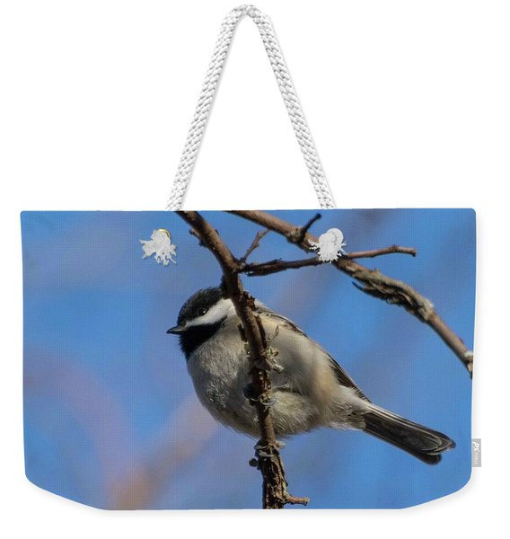 Little Chickadee Weekender Tote Bag