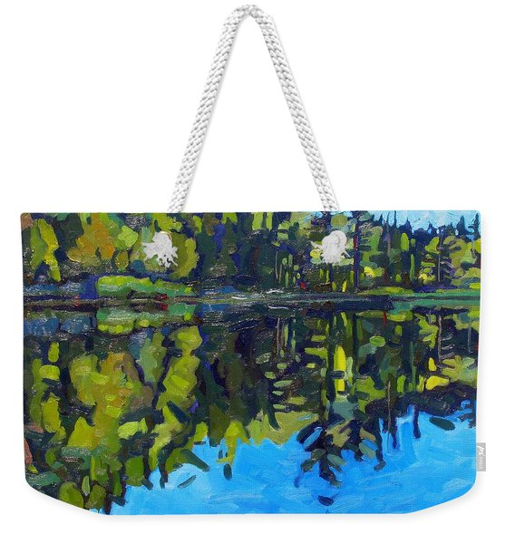 Little Clear Morning Weekender Tote Bag