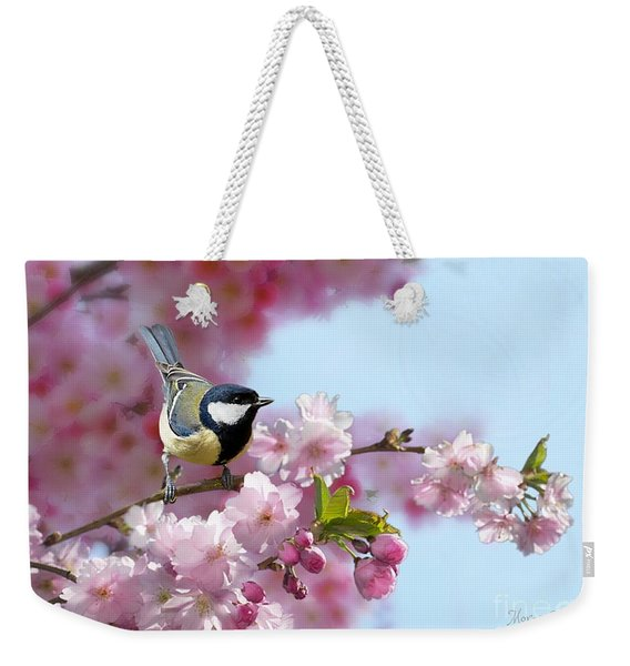 Little Coal Tit Weekender Tote Bag