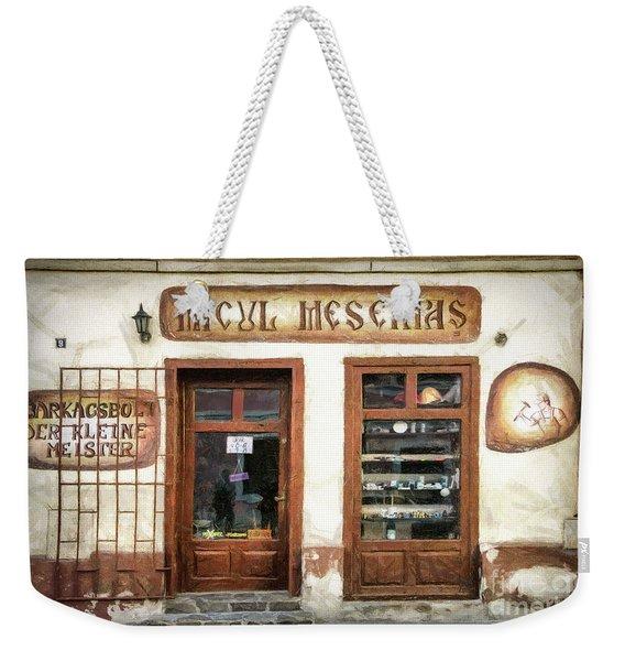 Little Craftsman' Shop - Micul Meserias Weekender Tote Bag