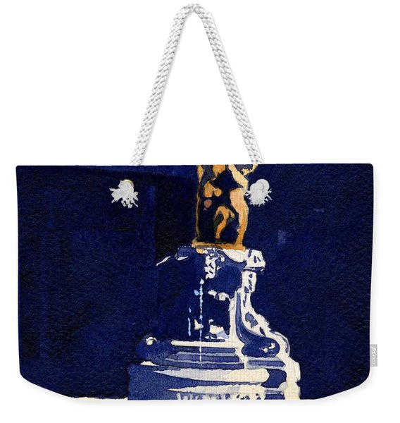 Little Fountain Weekender Tote Bag