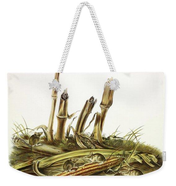 Little Harvest Mouse Weekender Tote Bag