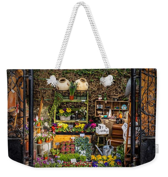 Weekender Tote Bag featuring the photograph Little Market by Nick Bywater
