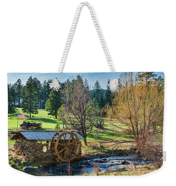 Little Old Mill Weekender Tote Bag
