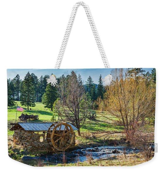 Little Old Mill Weekender Tote Bag