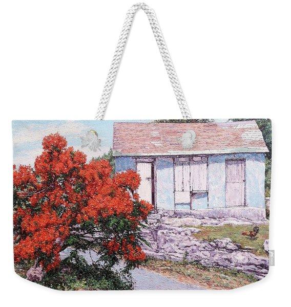 Little Poinciana Weekender Tote Bag