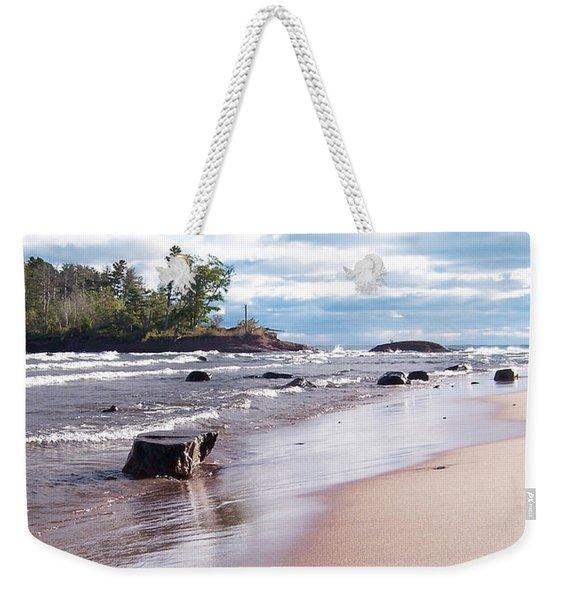 Little Presque Isle Weekender Tote Bag