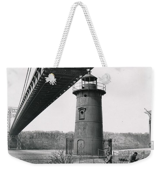 Little Red Lighthouse, 1961 Weekender Tote Bag