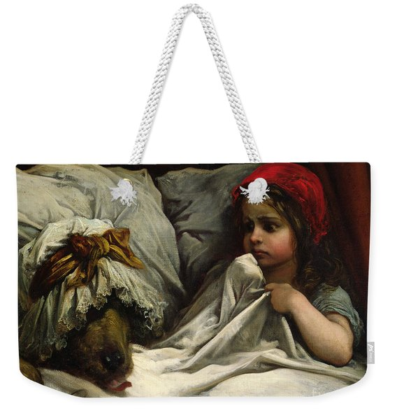 Little Red Riding Hood Weekender Tote Bag