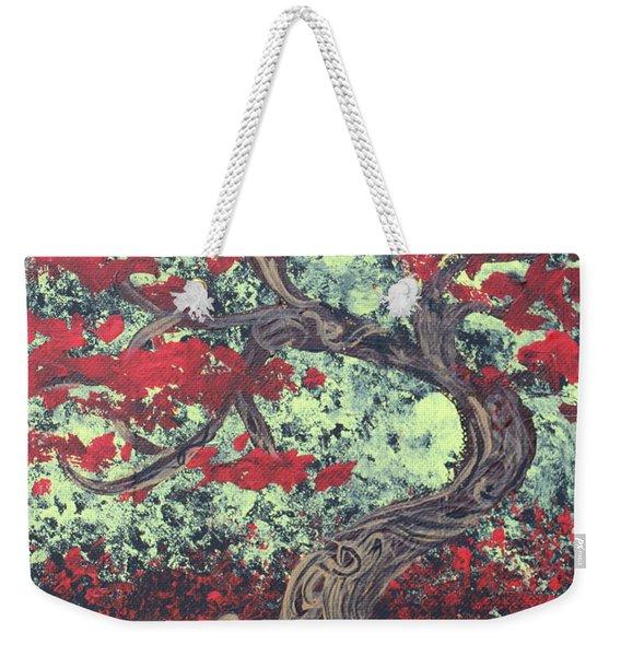 Little Red Tree Series 3 Weekender Tote Bag