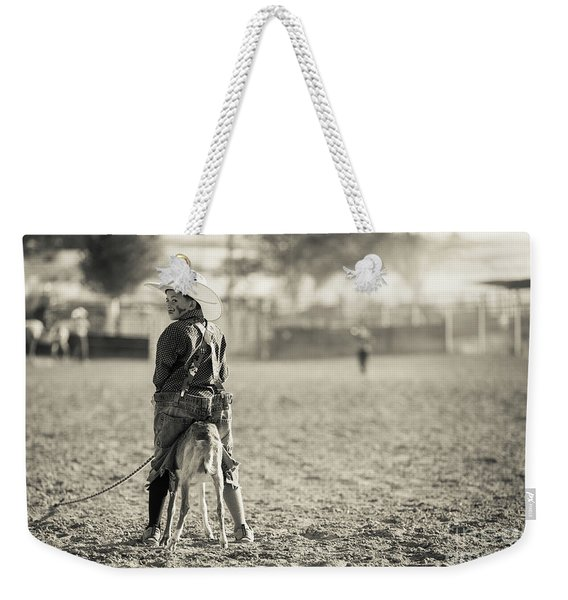 Little Rodeo Clown Weekender Tote Bag