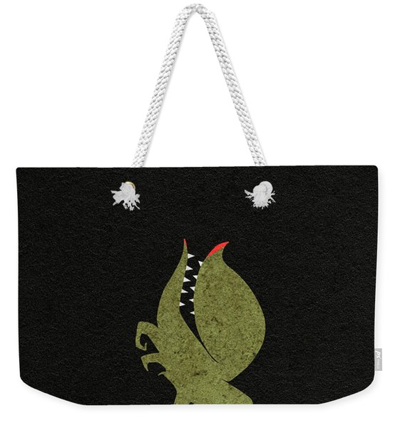 Little Shop Of Horror Minimalist Alternative Poster Weekender Tote Bag