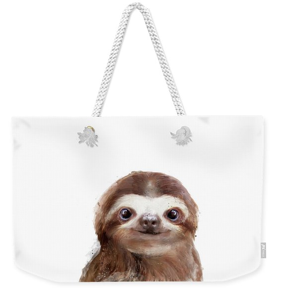 Little Sloth Weekender Tote Bag