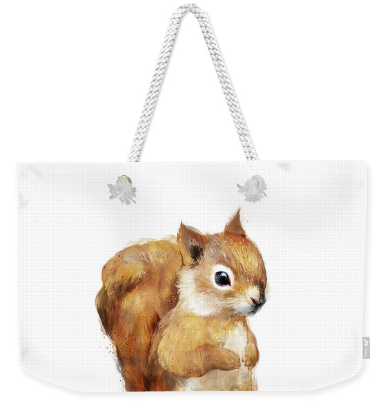 Little Squirrel Weekender Tote Bag