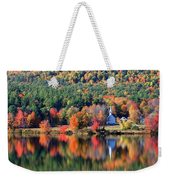 'little White Church', Eaton, Nh	 Weekender Tote Bag