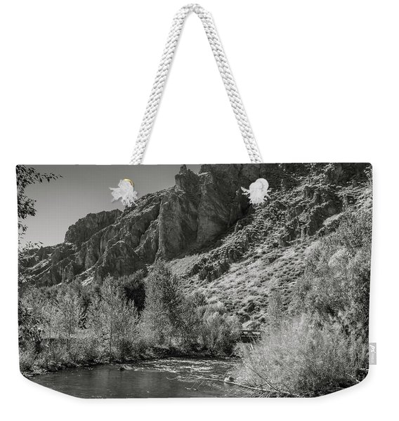 Little Wood River 2 Weekender Tote Bag