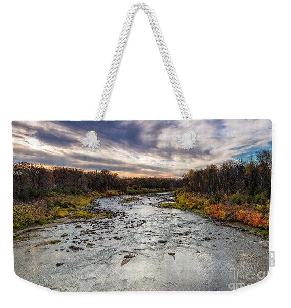 Littlefork River Weekender Tote Bag