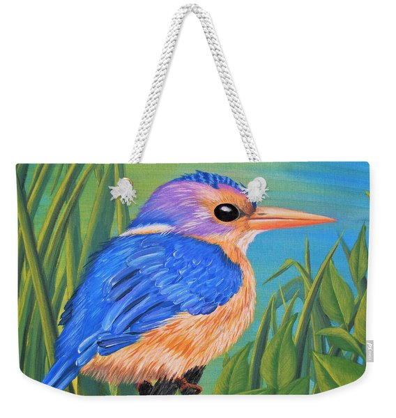Litttle King Of The Fishers Weekender Tote Bag