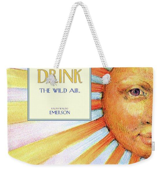 Live In The Sunshine Weekender Tote Bag