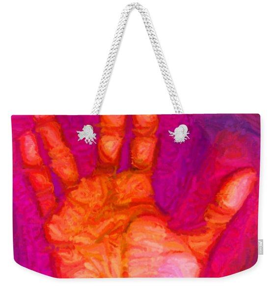 Live Long And Prosper Weekender Tote Bag