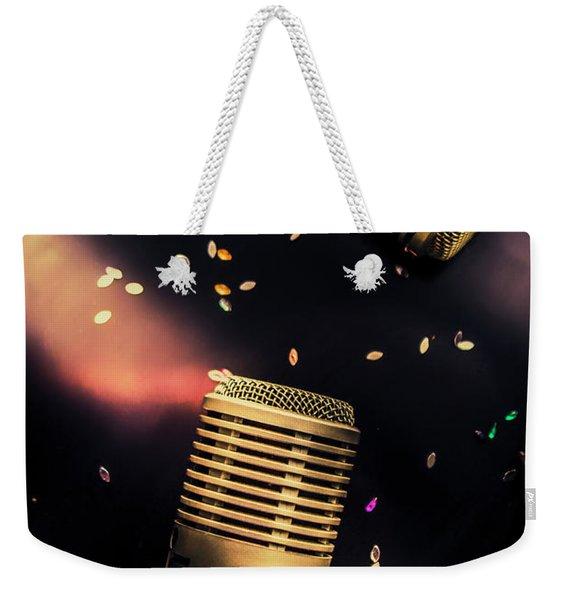 Live Musical Weekender Tote Bag