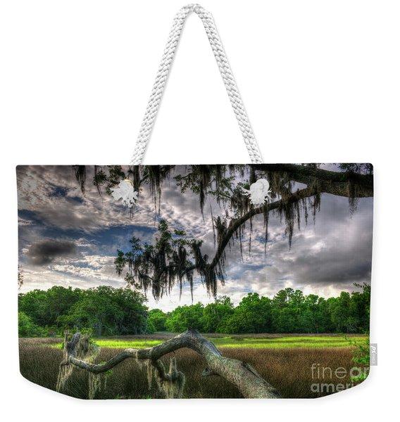 Live Oak Marsh View Weekender Tote Bag
