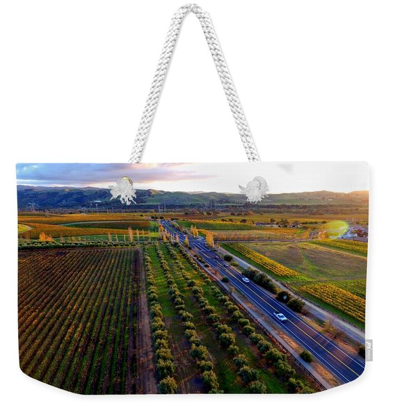 Livermore Wine Country--las Positas Winery Weekender Tote Bag