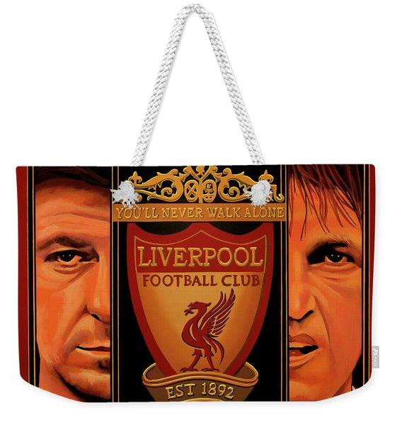 Liverpool Painting Weekender Tote Bag