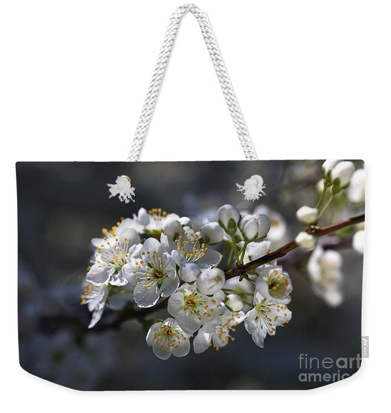 Living In Sring  Weekender Tote Bag
