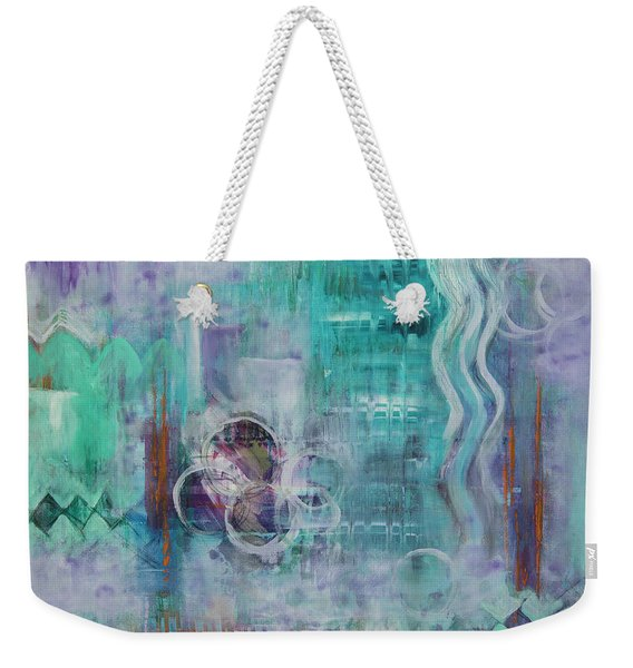 Living In The Mystery Weekender Tote Bag