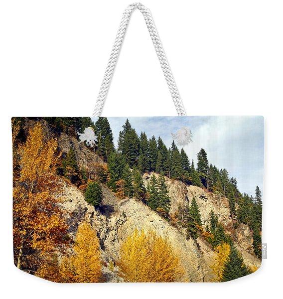 Living On The Edge Weekender Tote Bag