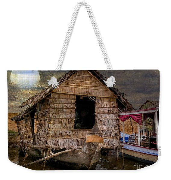 Living On The River Weekender Tote Bag