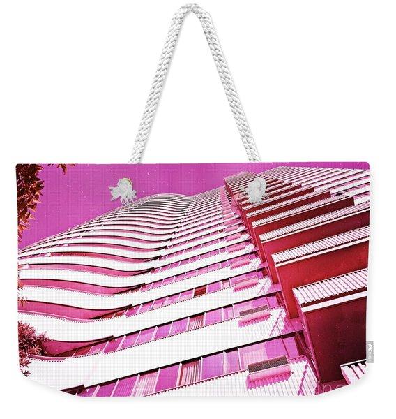 Living Pink Weekender Tote Bag