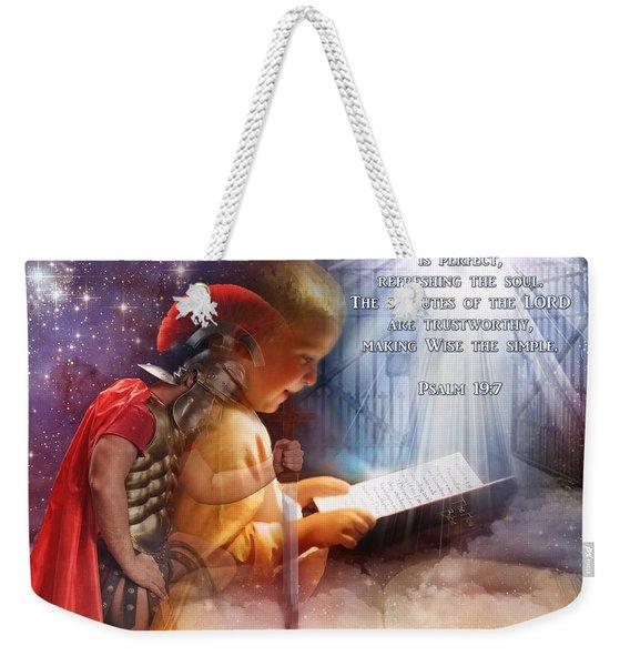 Living Word Weekender Tote Bag