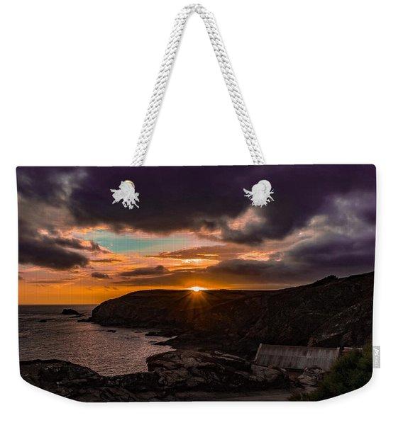 Lizard Point Sunset  Weekender Tote Bag