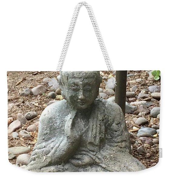 Lizard Zen Weekender Tote Bag